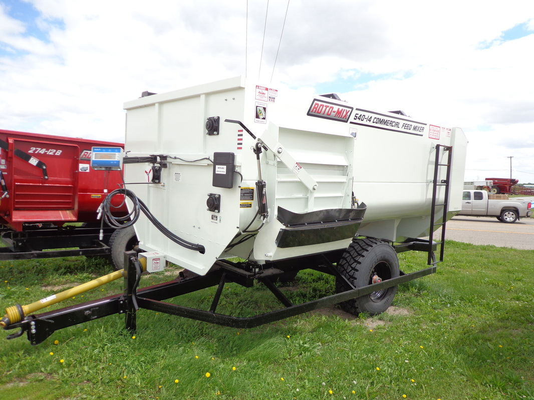 New ROTO-MIX 540-14 Trailer